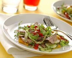 Recette salade de boeuf