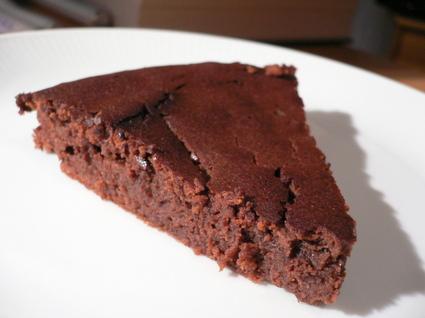 Recette de suprême fondant chocolat-marrons