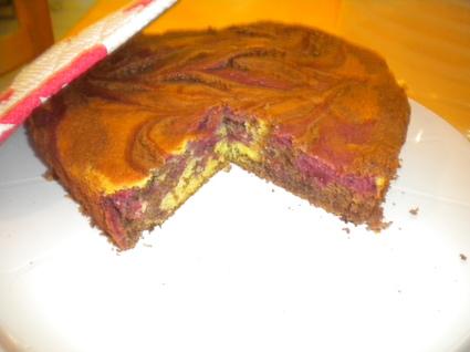 Recette de gâteau chocolat, framboise, citron