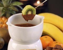 Recette fondue au chocolat aux fruits frais