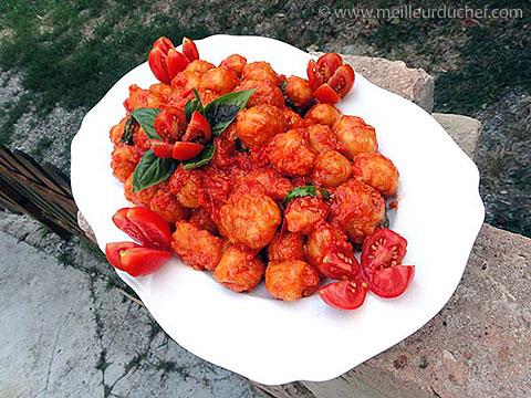 Gnocchis fritti  recette de cuisine illustrée  meilleurduchef.com