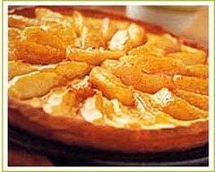 Recette tarte normande flambée au calvados