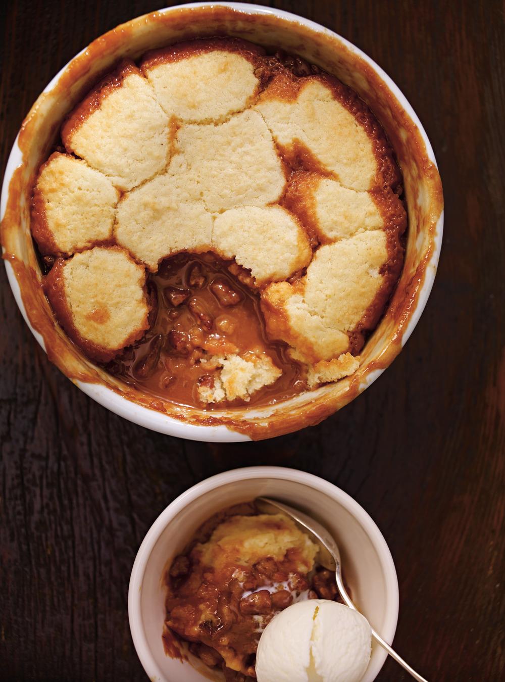 Pouding chaud au caramel et aux pacanes | ricardo