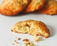 Recette cookies moelleux aux bananes flambées