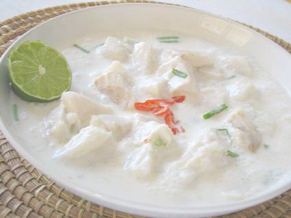 Recette de poisson cru mariné lait de coco et citron vert