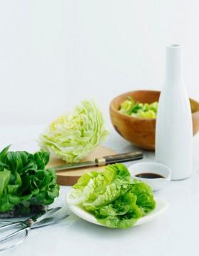 Salade verte au pamplemousse et crevettes pour 2 personnes ...