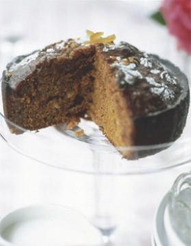 Gâteau muscovado et orange pour 6 personnes