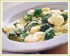 Recette brocolis et chou-fleur au bouillon de thym