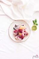 Recette de rouleaux de printemps au melon, fraises et basilic