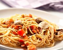 Spaghettis aux palourdes | cuisine az