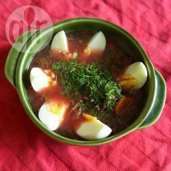 Recette botwinka : soupe aux jeunes feuilles de betteraves – toutes ...