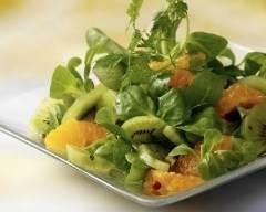 Recette salade vitaminée de mâche aux clémentines