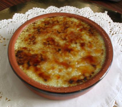 Recette crème brûlée pistache (crème dessert)
