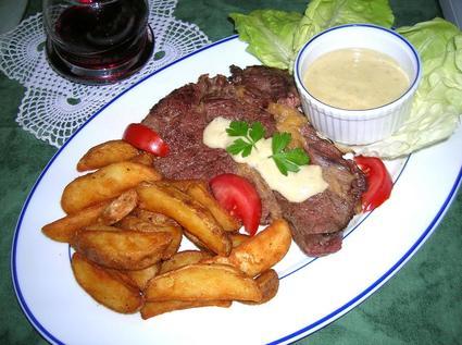 Recette entrecôte sauce roquefort