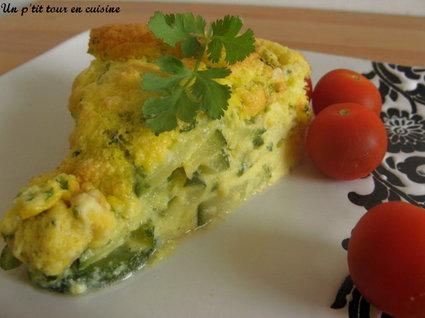 Recette omelette soufflée aux courgettes à la ciboulette