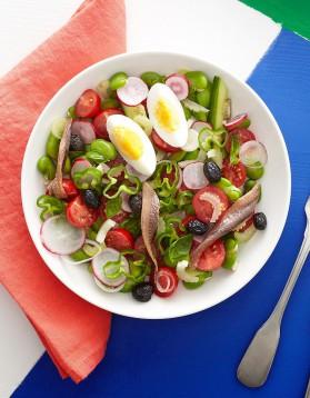 Salade niçoise pour 4 personnes