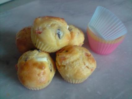 Recette de mini muffins à la provençale