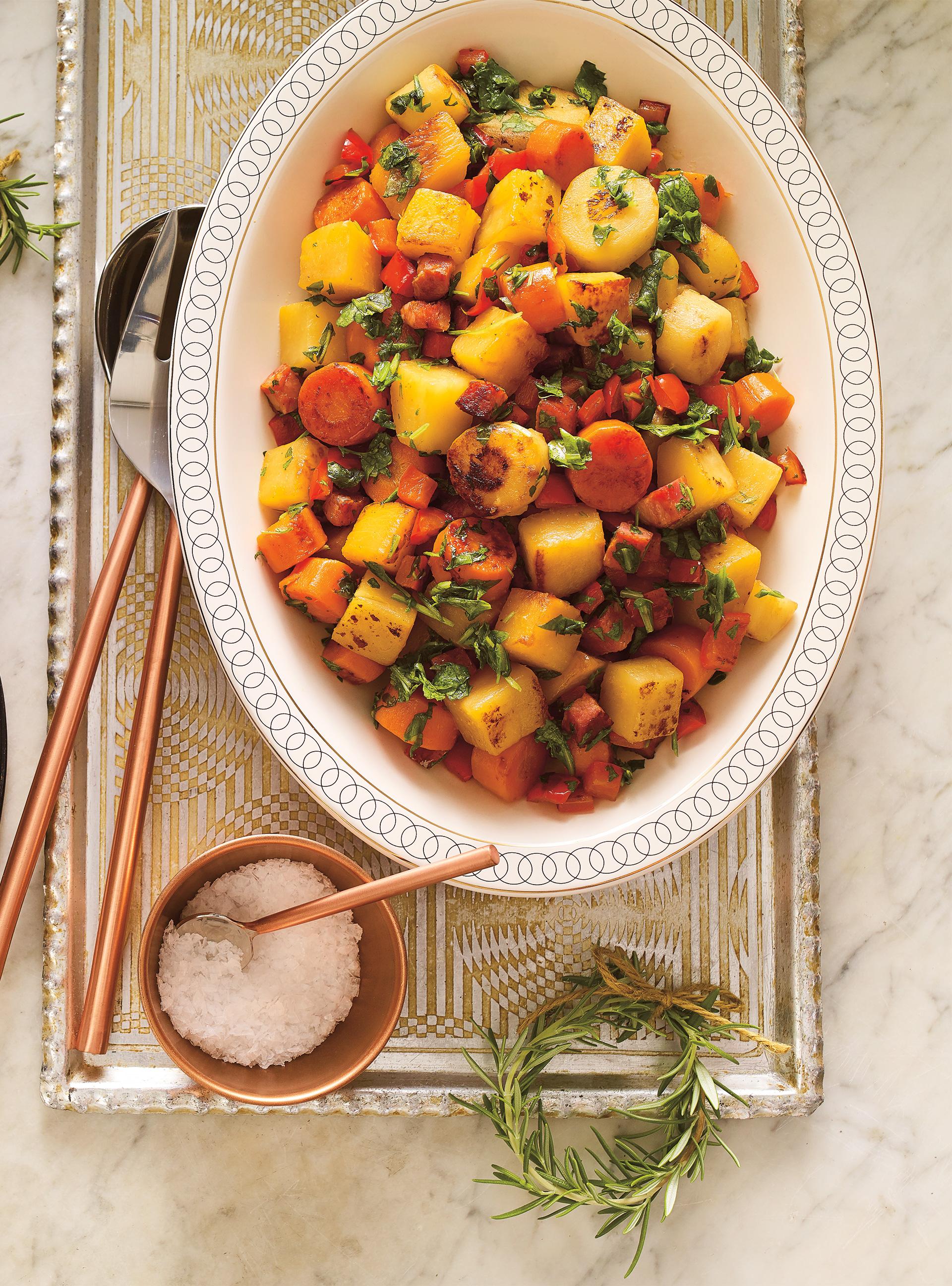 Légumes braisés au chorizo | ricardo