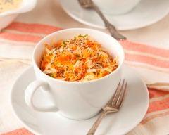 Recette salade de carottes et pommes rapées