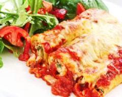 Recette crêpe à la mozzarella et à la tomate