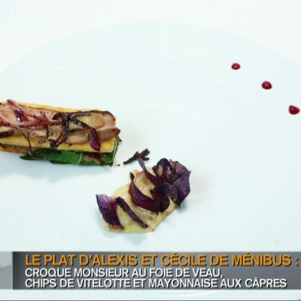 Recette croque monsieur au foie de veau recette - Cuisiner le foie de veau ...