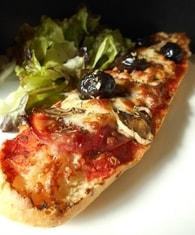 Recette de tartine façon pizza
