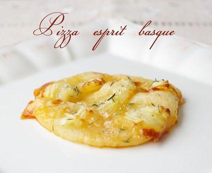 Recette de mini pizza esprit basque