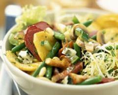 Recette salade sarladaise