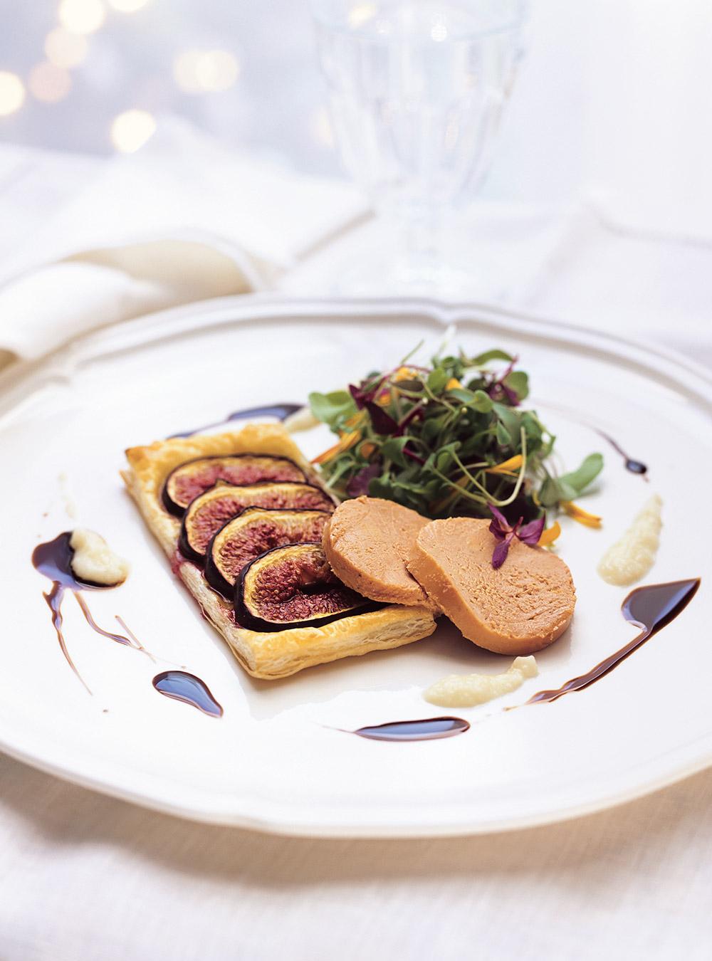 Tartes fines aux figues et au foie gras | ricardo