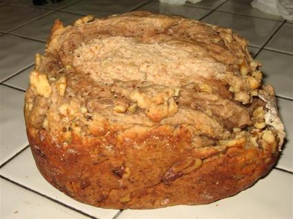 Recette de pain aux noix et au gorgonzola