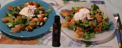 Recette de salade fraîcheur au pamplemousse