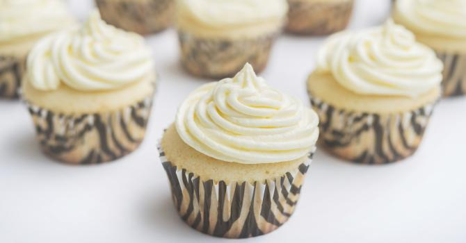 Recette de cupcakes à la vanille au thermomix®