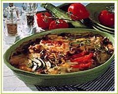 Recette gratin de boeuf haché à la tomate