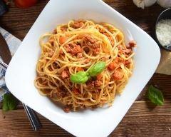 Recette one pot pasta à la viande hachée façon bolognaise