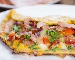 Recette omelette basquaise