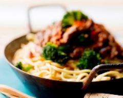 Recette wok de bœuf sauté au sésame