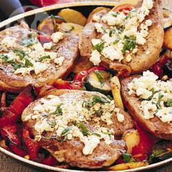 Recette tranches de gigot à la grecque – toutes les recettes ...