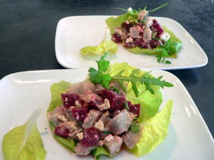 Recette de salade hivernale