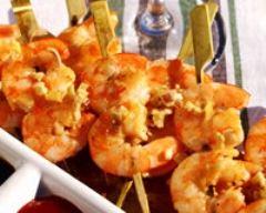 Recette crevettes au gingembre et à la citronnelle