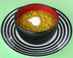 Recette soupe aux pois à l'indienne