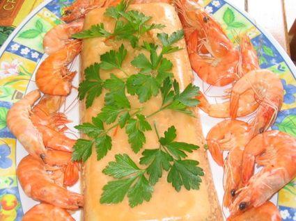 Recette de terrine raffinée à la bisque de homard