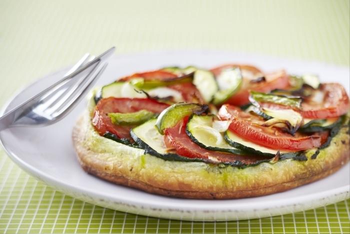 Recette de tarte fine aux légumes facile et rapide