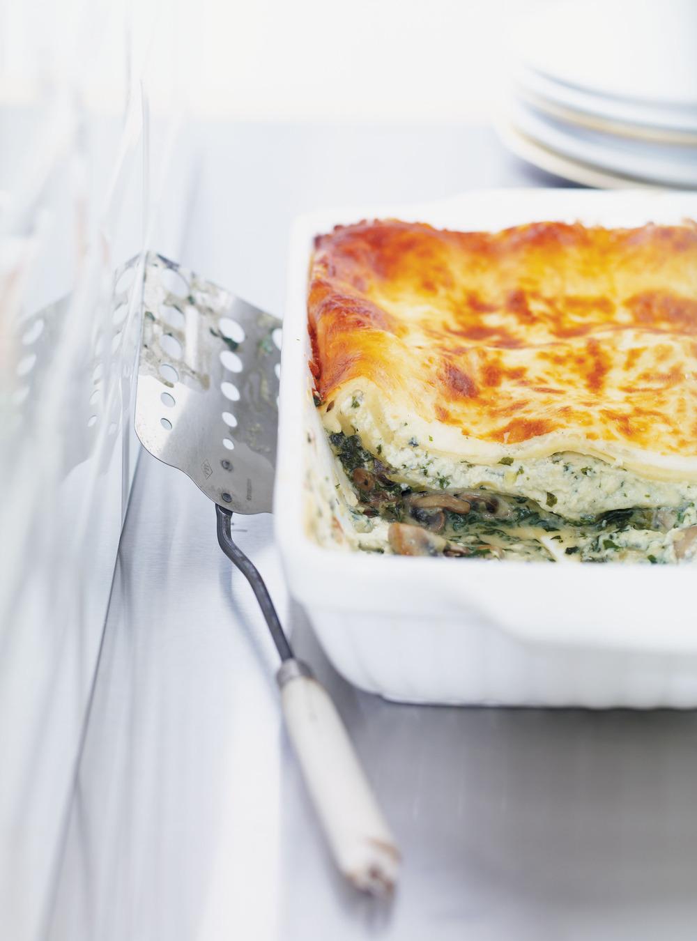 Lasagne au fromage bleu | ricardo