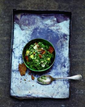 Salade caesar au kale pour 6 personnes