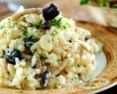 Recette risotto aux champignons à l'italienne