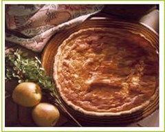 Recette tarte à la ricotta et aux fruits confits