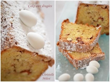 Recette de cake aux dragées