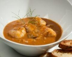 Recette huîtres de normandie et coquillages façon bouillabaisse