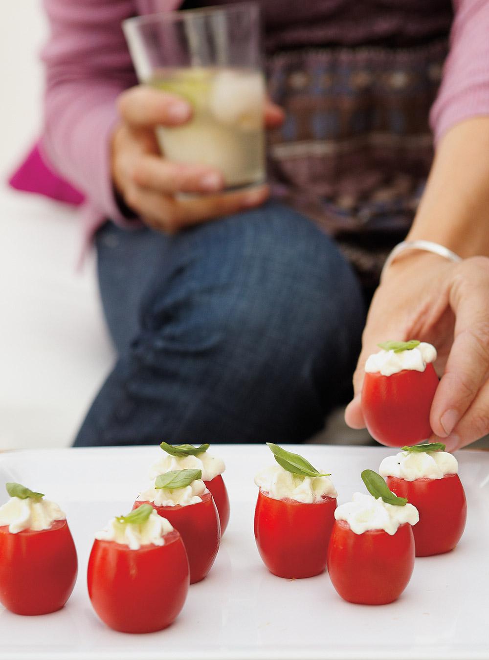 Tomates farcies au mascarpone | ricardo