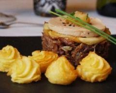 Recette marbré de canard au foie gras